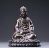 Buddha af bronze. Japan, Meiji 1868-1912