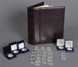 Mønthuset Danmark / Den Kgl. Mønt. H. C. Andersen 200 års jubilæum, Danmarks Historie m.m. medaljer & mønter af sterlingsølv & finsølv (27)