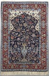Oriental carpet, Isfahan, 166x112 cm