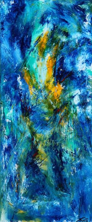 Per Eli. Komposition - Dk, Vejle, Dandyvej - Per Eli (f. 1957). Komposition, akryl på lærred, sign. Per Eli. 120 x 50 cm. Uden ramme. Læs kunstnerprofil her - Dk, Vejle, Dandyvej