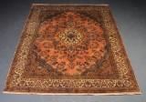 Indisk Kashan 208 x 244 cm.
