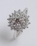 Modern brilliant-cut diamond ring, approx. 1.57 ct.