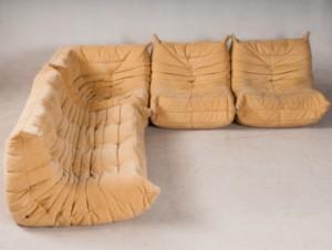 Michel Ducaroy 2 Sitzer 2 Sessel Und Ein Eck Sitzelement Togo