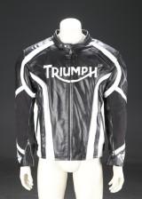 Triumph. 'Daytona' motorcykeljakke af læder str. XL/TG