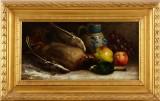 Oidentifierad konstnär oljemålning