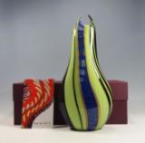 Gianluca Vidal - Murano, Italy - glass vase