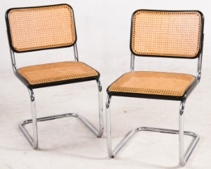 vare 3767700 marcel breuer paar freischwinger 39 s32 39 f r thonet. Black Bedroom Furniture Sets. Home Design Ideas