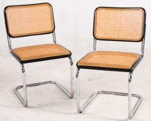 marcel breuer paar freischwinger 39 s32 39 f r thonet. Black Bedroom Furniture Sets. Home Design Ideas