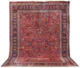 Carpet, semi-antique Meshed, Persia, signed, 405 x 303