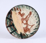 Peter Brandes. Ceramic plate (cd)