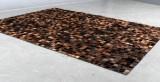 Koskindstæppe. Patchwork, 218 x 155 cm.