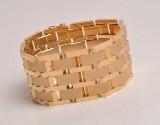 Bracelet, 14 kt. gold, weight approx. 70 g.