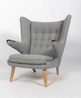 H. J. Wegner. Papa Bear Chair, lounge chair, model AP-19