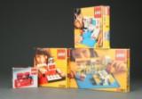 Samling ældre Lego i originalæsker (4)