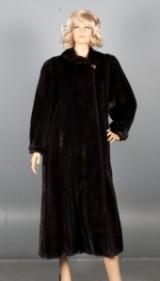 Saga Superb. Mink coat, size 38/ 40