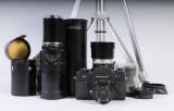 Kamera, Leicaflex SL2 med objektiv (9)