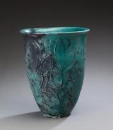 Svend Hammershøi for Kähler. A large vase, earthenware