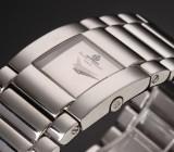 Baume & Mercier 'Catwalk'. Dameur i stål med sølvfarvet skive, certifikat 2007