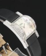 Ebel 'Haute Joaillerie'. Dameur i 18 kt. hvidguld prydet med brillanter, certifikat 2009
