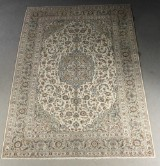 Persian hand-knotted carpet, Kashan, 374x271 cm