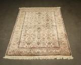 Persisk Ghom med silke, 1mill knuder 121 x 186 cm