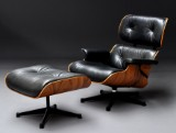 Charles & Ray Eames. Lounge Chair with Ottoman, anniversary model, no. 062 (3)