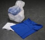 50 polo-shirts, primært str. XL (50)