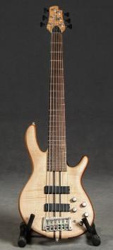 CORT Bassgitarre, A6, Open Pore Natural