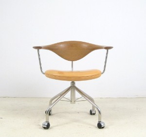 Furniture Hans J Wegner Swivel Chair Model PP 502 For PP M