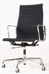 Charles & Ray Eames, aluminium chair/office chair model EA-119 from the Aluminium Group series for Vitra
