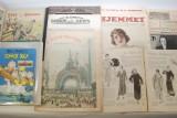 Magasiner fra 1900- 41. samt 2 samlehefter med 1950 tals tegneserier(14)