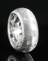 18kt diamond ring approx. 0.25ct
