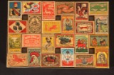 One of Denmark's biggest collections of match labels, etc, with over 120,000 (9)