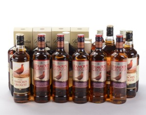 Samling af whisky fra Ballantines og Famues Grouse (24) - Dk, Herlev, Dynamovej - Samling af whisky fra Ballantines og Famues Grouse (24) - Dk, Herlev, Dynamovej