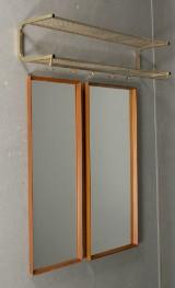Två speglar samt hatthylla (3)