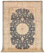 Rug, silk, Kashmir, 273 x 186