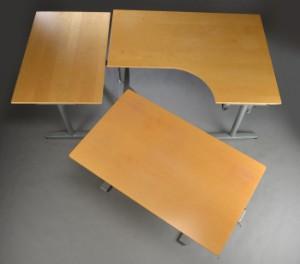 Ikea Skrivebord Hjørne Med Hævesænkesystem 3 Denne Vare Er Sat