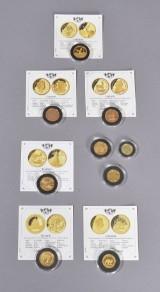 Mønthuset Danmark m.m. Samling af verdens mest berømte guldmønter (9)