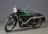 B.S.A motorcycle M22 sport from 1939, 500cc, two port