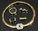 Ponte Vecchio Gicielli. Italiensk smykkesæt, 18 kt guld (6)