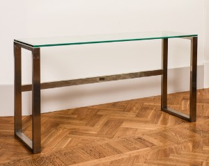 Heine Design Sideboard Glass And Metal Lauritz Com