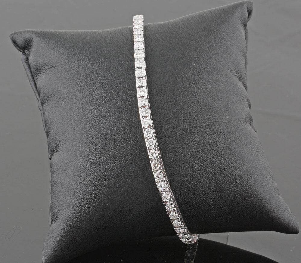 tennisarmbånd med diamanter