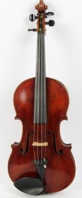 Danish hand-made P. P. Adamsen, 4/4 Violin.