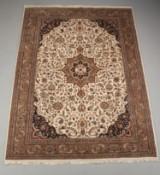 Indisk tæppe, Keschan, 248 x 355 cm