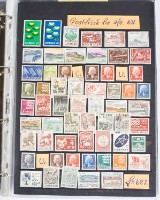 Danmark samling postfriske. (1)