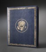 USA. Album med 36 Franklin Mint medaljer i sterlingsølv