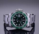 Rolex Submariner 'Hulk', men's wristwatch