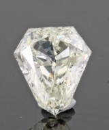 Loose heptagon-cut diamond  3.03.ct.with HRD certificate.