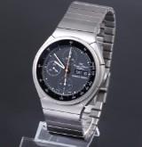IWC 'Porsche Design' men's watch with chronograph, titanium, black dial, 1980's
