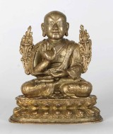 Bronze figure depicting Changkya Rolpai Dorje